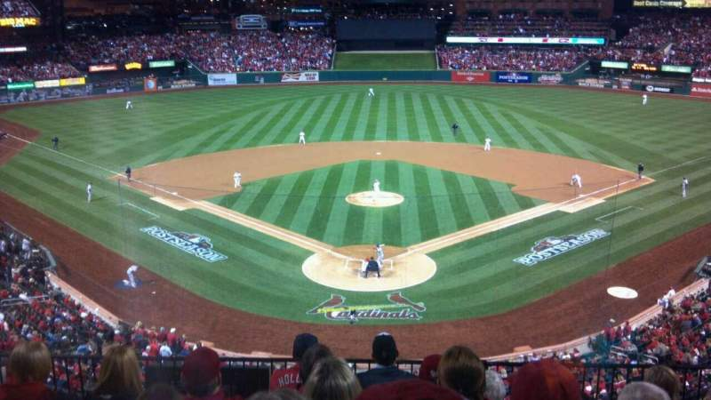 Busch Stadium, section: 250, row: 6, seat: 8