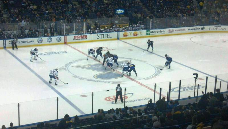 Seating view for Scottrade Center Section 118 Row HH Seat 5