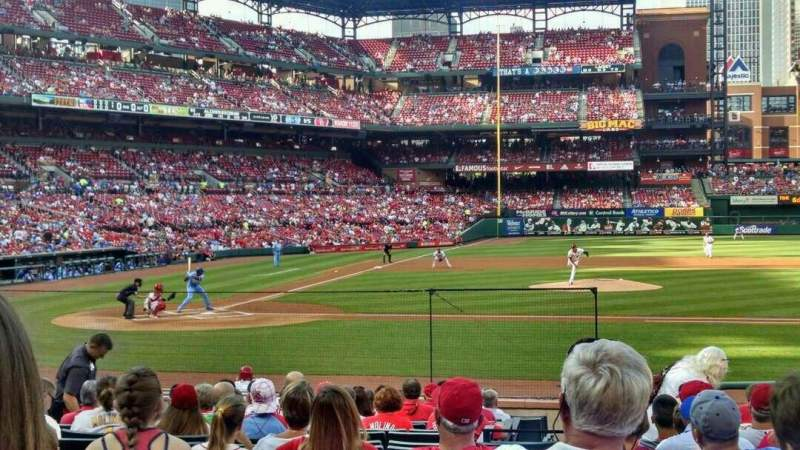 Seating view for Busch Stadium Section 145 Row 7 Seat 8