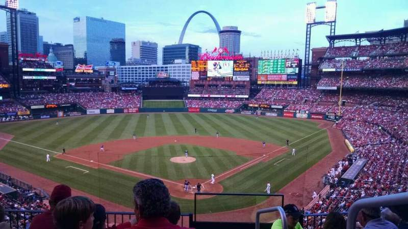 Seating view for Busch Stadium Section 251 Row 5 Seat 1
