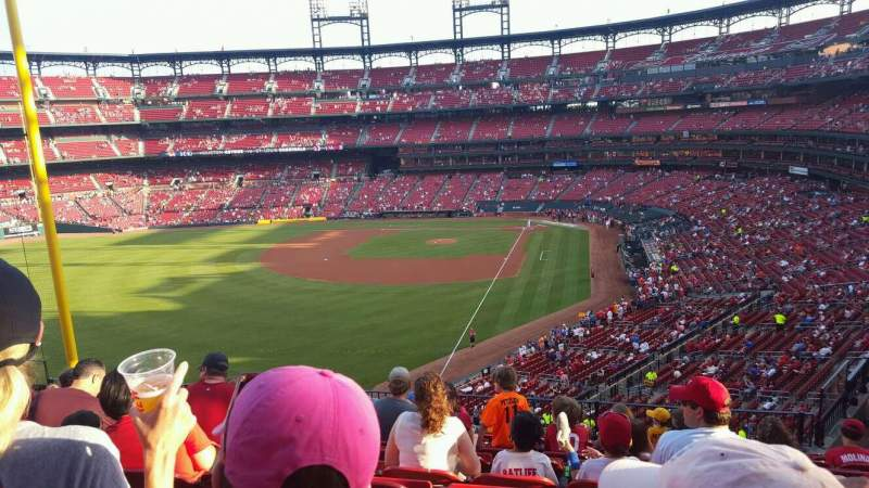 Seating view for Busch Stadium Section 270 Row 10 Seat 7