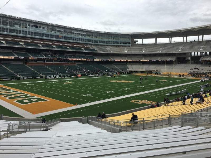 Seating view for McLane Stadium Section 130 Row 28 Seat 25