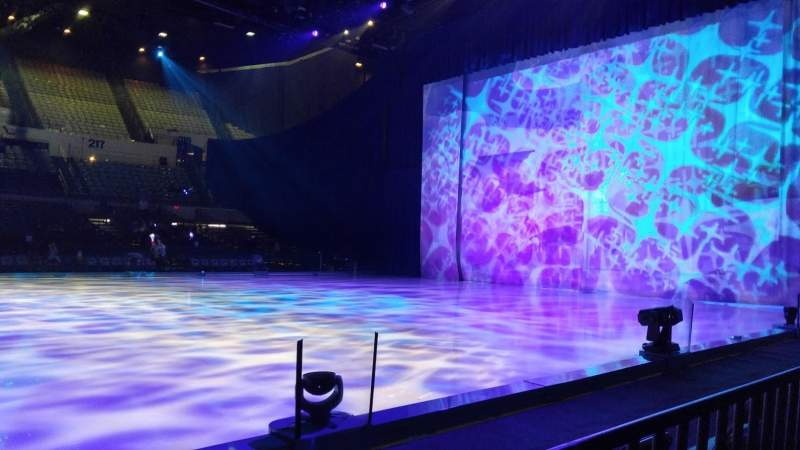 Seating view for Long Beach Convention Center Section 12 Row BB Seat 1