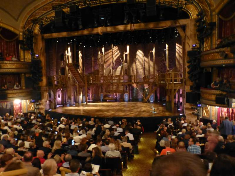 Seating view for Richard Rodgers Theatre Section Orchestra R Row P Seat 2