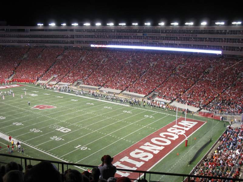 Seating view for Camp Randall Stadium Section AA Row 11 Seat 8