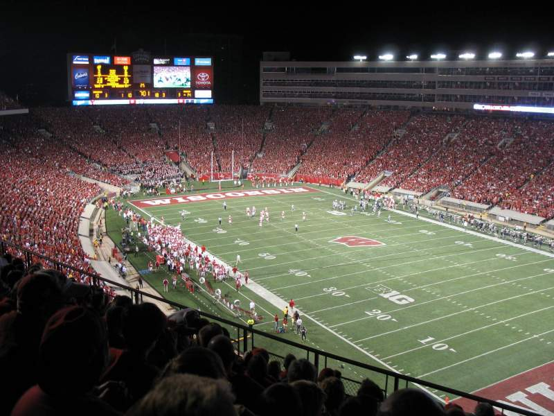 Camp Randall Stadium, section: AA, row: 11, seat: 7