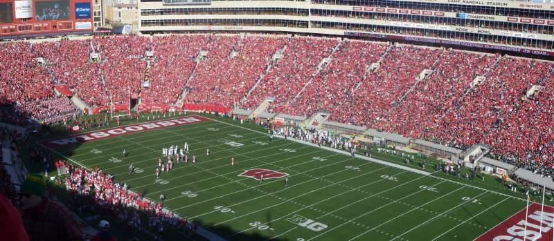 Camp Randall Stadium, section: AA, row: 36, seat: 15