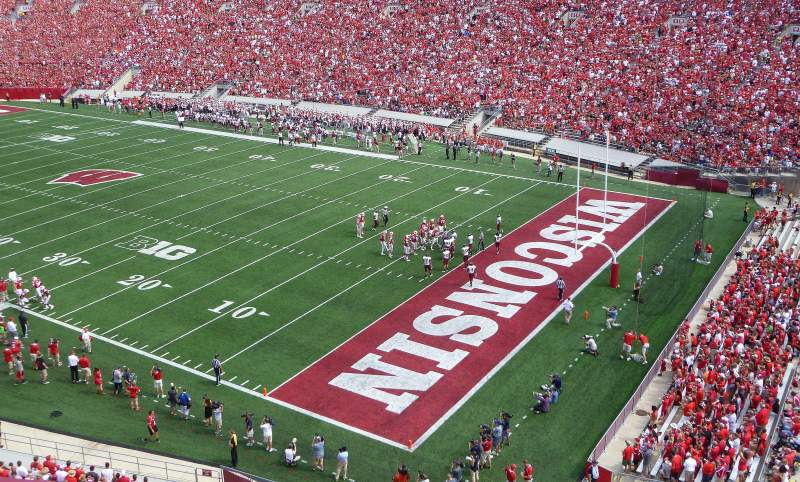 Seating view for Camp Randall Stadium Section AA Row 2 Seat 10