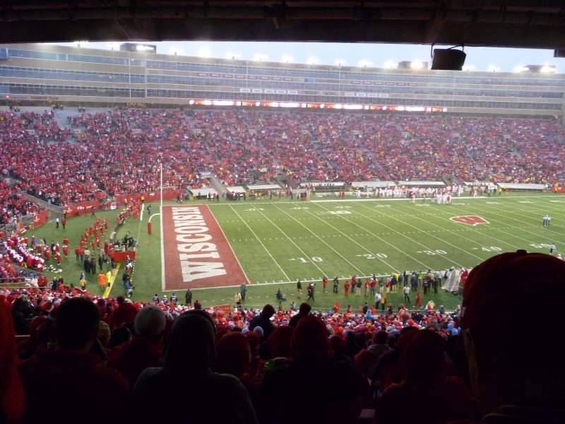 Seating view for Camp Randall Stadium Section H Row 64 Seat 26