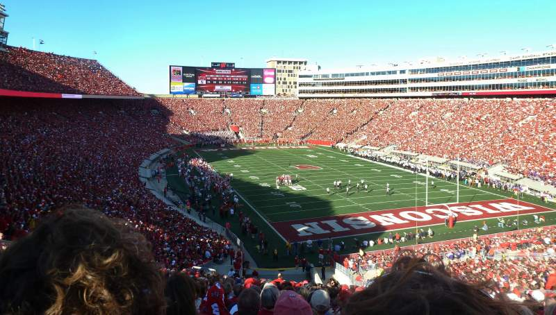 Seating view for Camp Randall Stadium Section Z2 Row 66 Seat 30