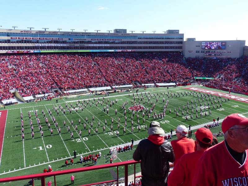 Seating view for Camp Randall Stadium Section II Row 5 Seat 2