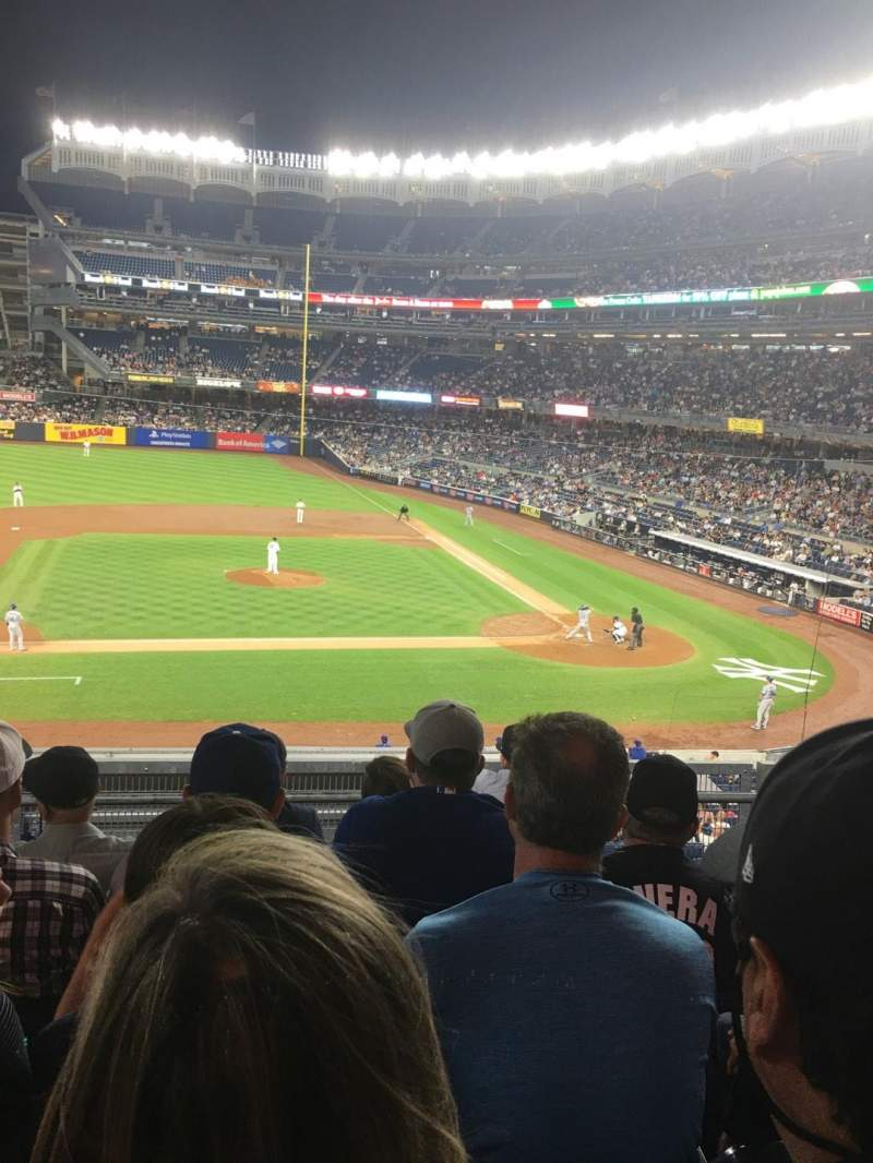 Seating view for Yankee Stadium Section 224 Row 5 Seat 13
