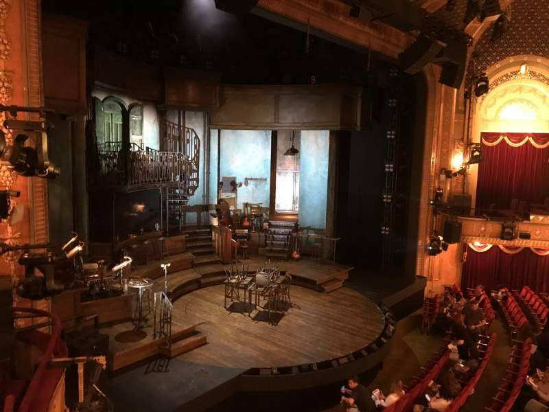 Seating view for Walter Kerr Theatre Section BOX B Seat 6