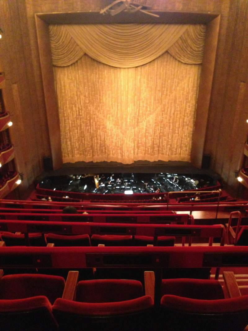 Seating view for Metropolitan Opera House - Lincoln Center Section Balcony C Row F Seat 107