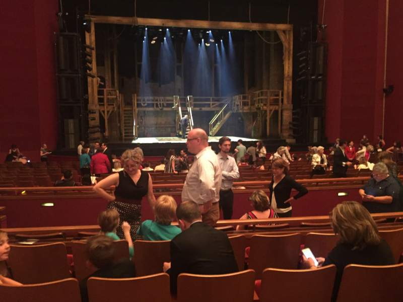 Seating view for The Kennedy Center Opera House Section Orchestra C Row W Seat 123