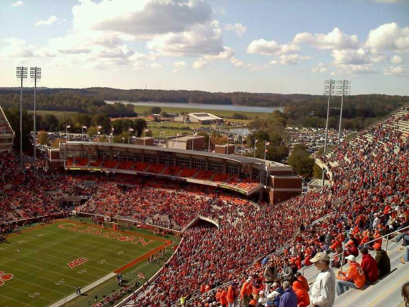 Seating view for Memorial Stadium, Clemson