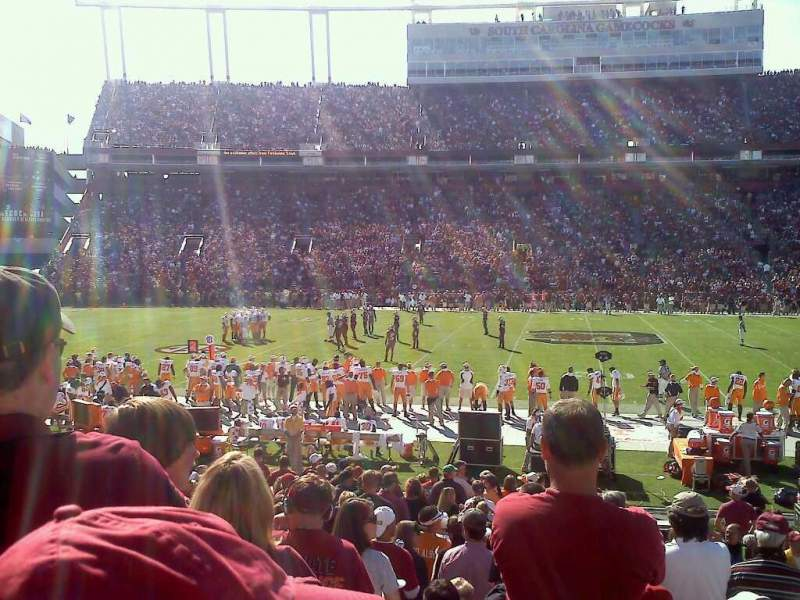 Seating view for Williams-Brice Stadium Section 21