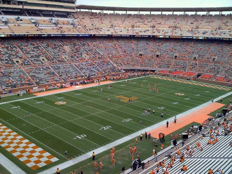 Seating view for Neyland Stadium Section HH