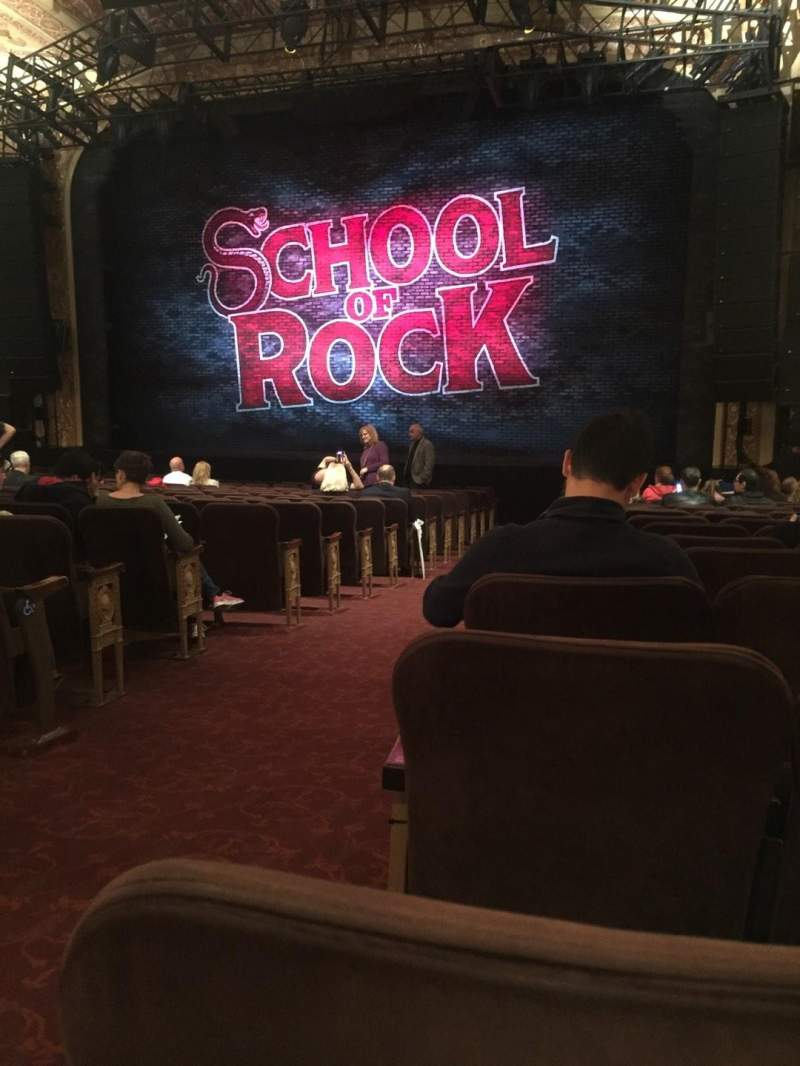 Seating view for Winter Garden Theatre Section Orchestra Row T Seat 2