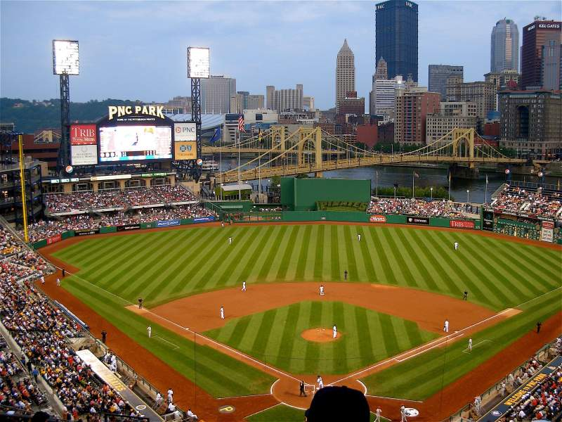 Seating view for PNC Park Section 317