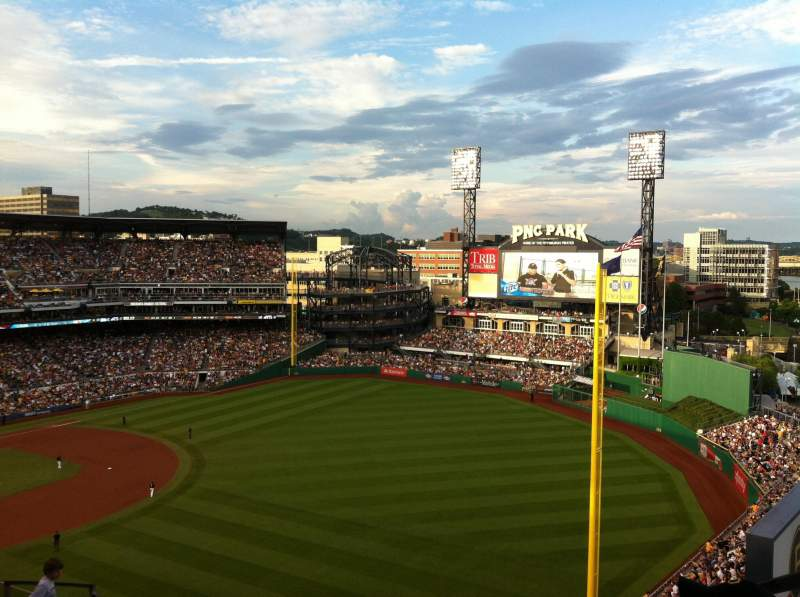 Seating view for PNC Park Section 301 Row R Seat 3