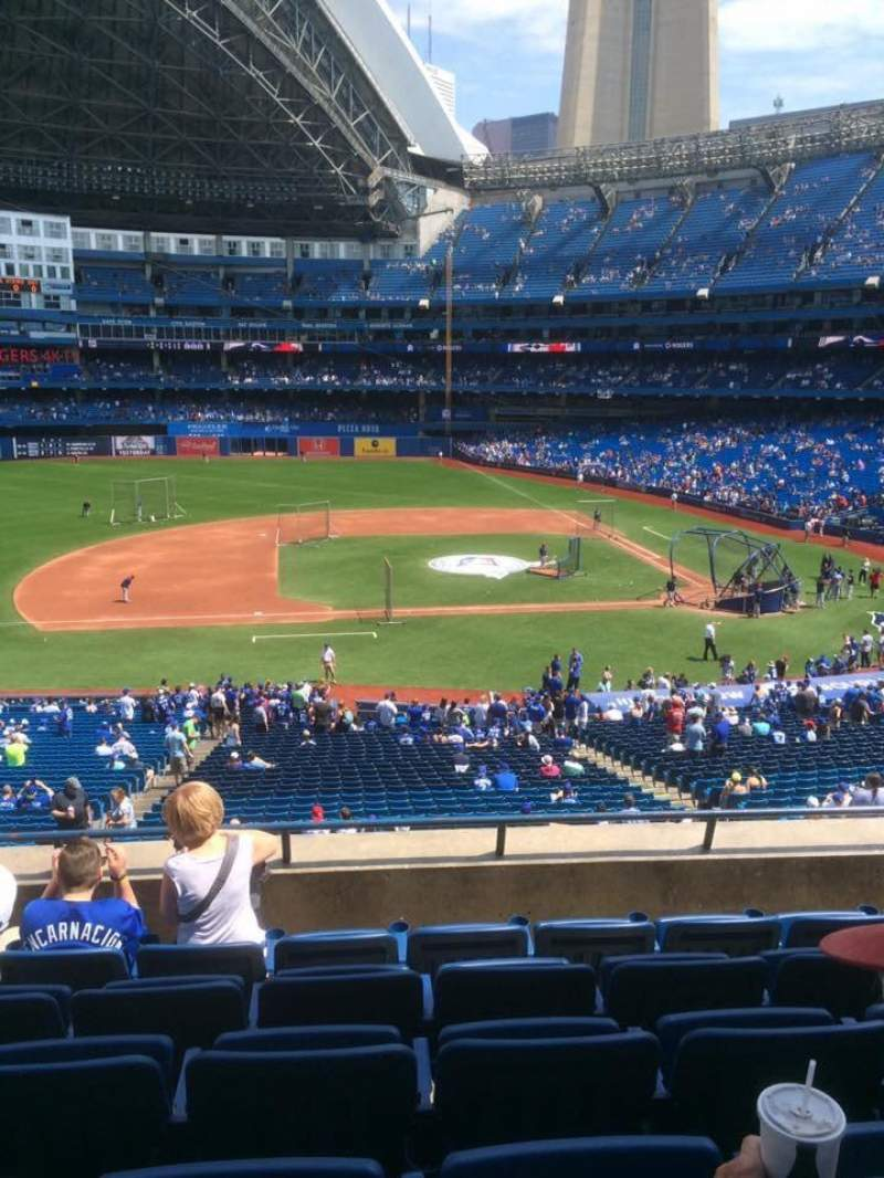 Seating view for Rogers Centre Section 230R Row 6 Seat 5