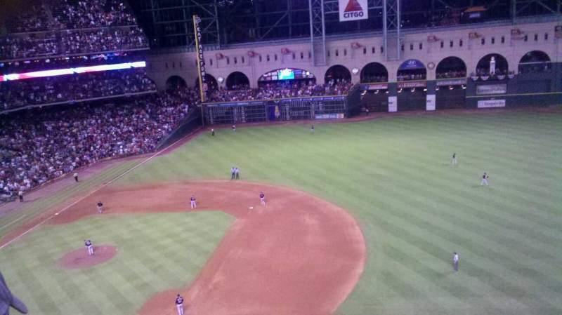 Seating view for Minute Maid Park Section 327 Row 2 Seat 21