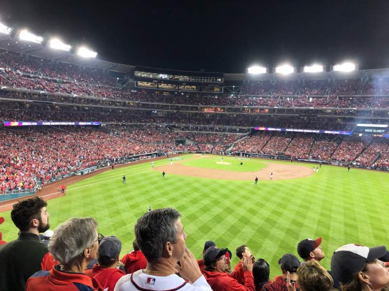 Seating view for Nationals Park Section 241 Row J Seat 18