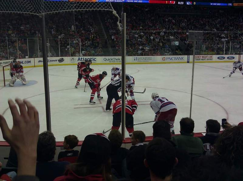 Seating view for Prudential Center Section 6 Row 5 Seat 9
