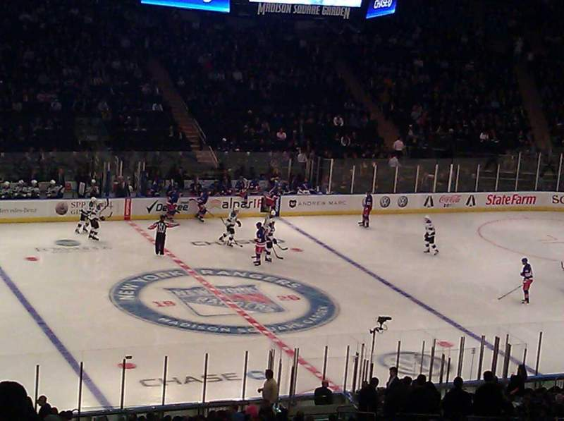 Seating view for Madison Square Garden Section 313 Row N Seat 4