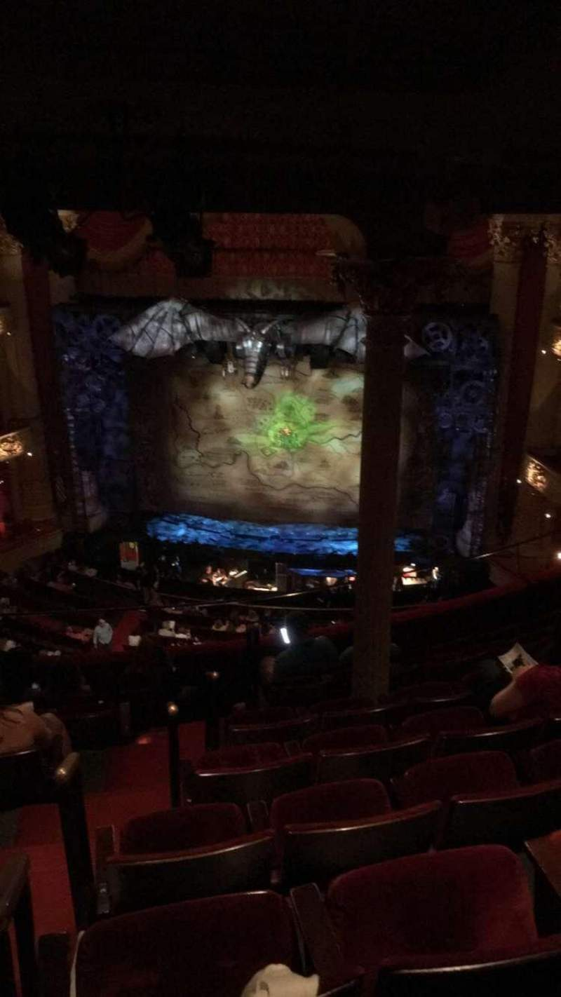 Seating view for Academy of Music Section Family Circle D Row H Seat 2