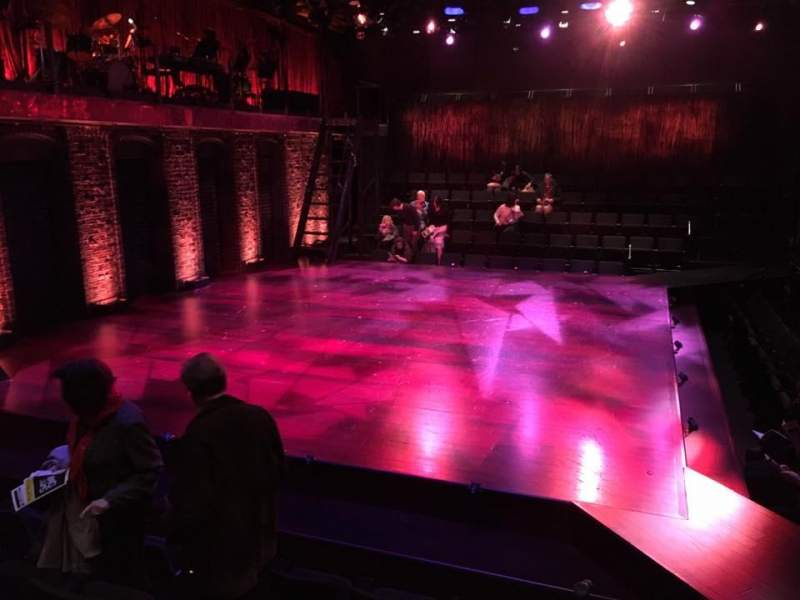 Seating view for The Linney Section Orchestra Row E Seat 29