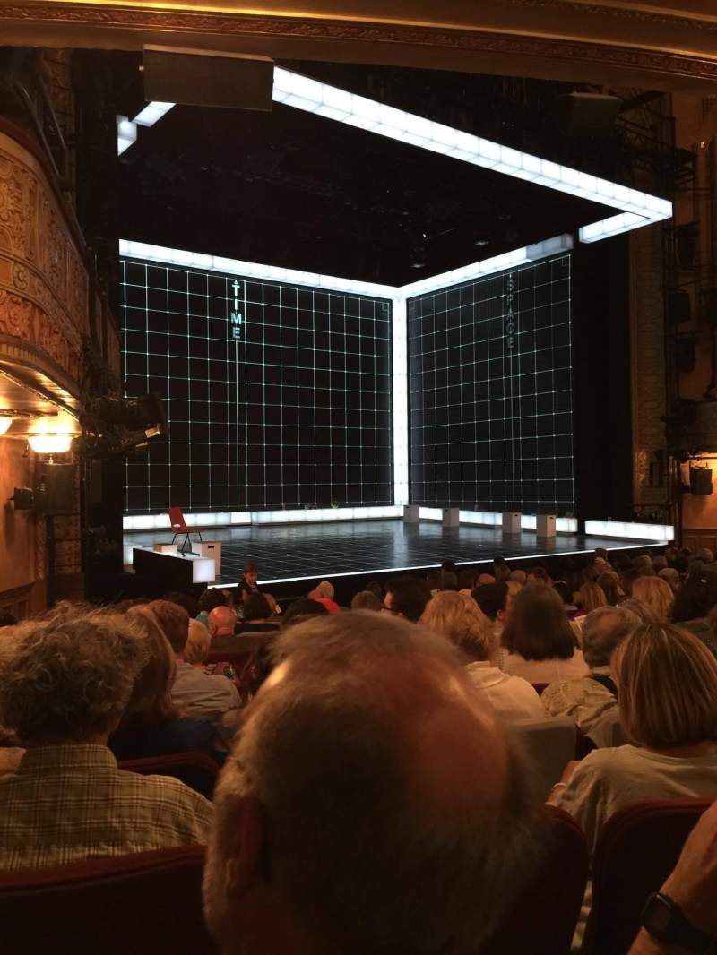 Seating view for Ethel Barrymore Theatre Section Orchestra R Row M Seat 12