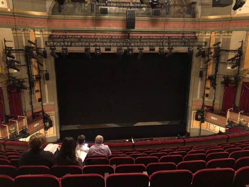 Seating view for Neil Simon Theatre Section Front Mezzanine C Row K Seat 107