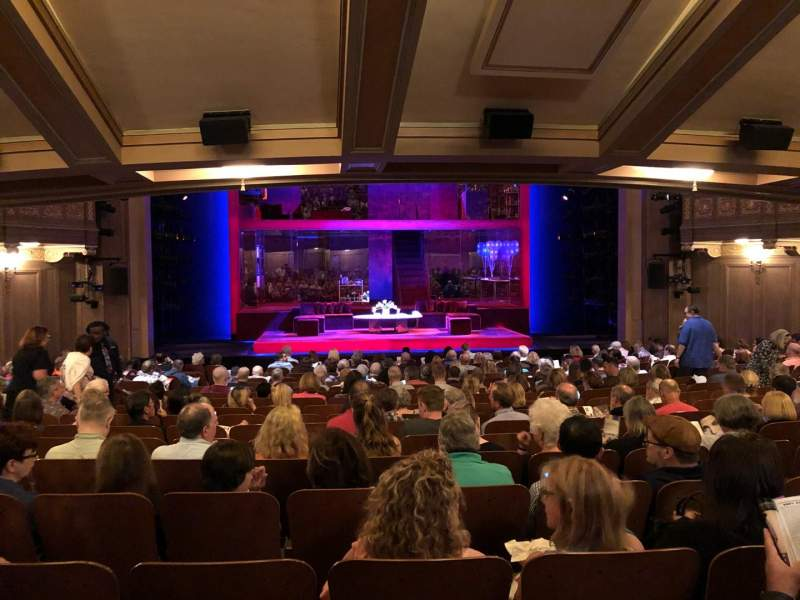 Seating view for Booth Theatre Section SRO Seat 106