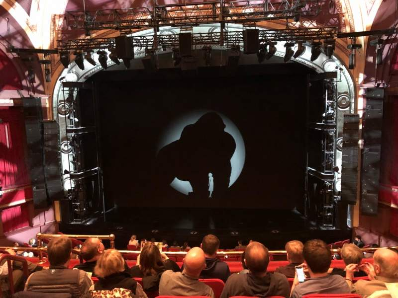 Seating view for Broadway Theatre - 53rd Street Section FMEZZ Row E Seat 105