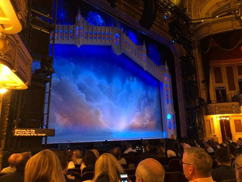 Seating view for Hippodrome Theatre Section Left Orchestra Row L Seat 15