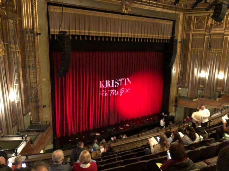Seating view for Nederlander Theatre Section Mezzanine L Row J Seat 23