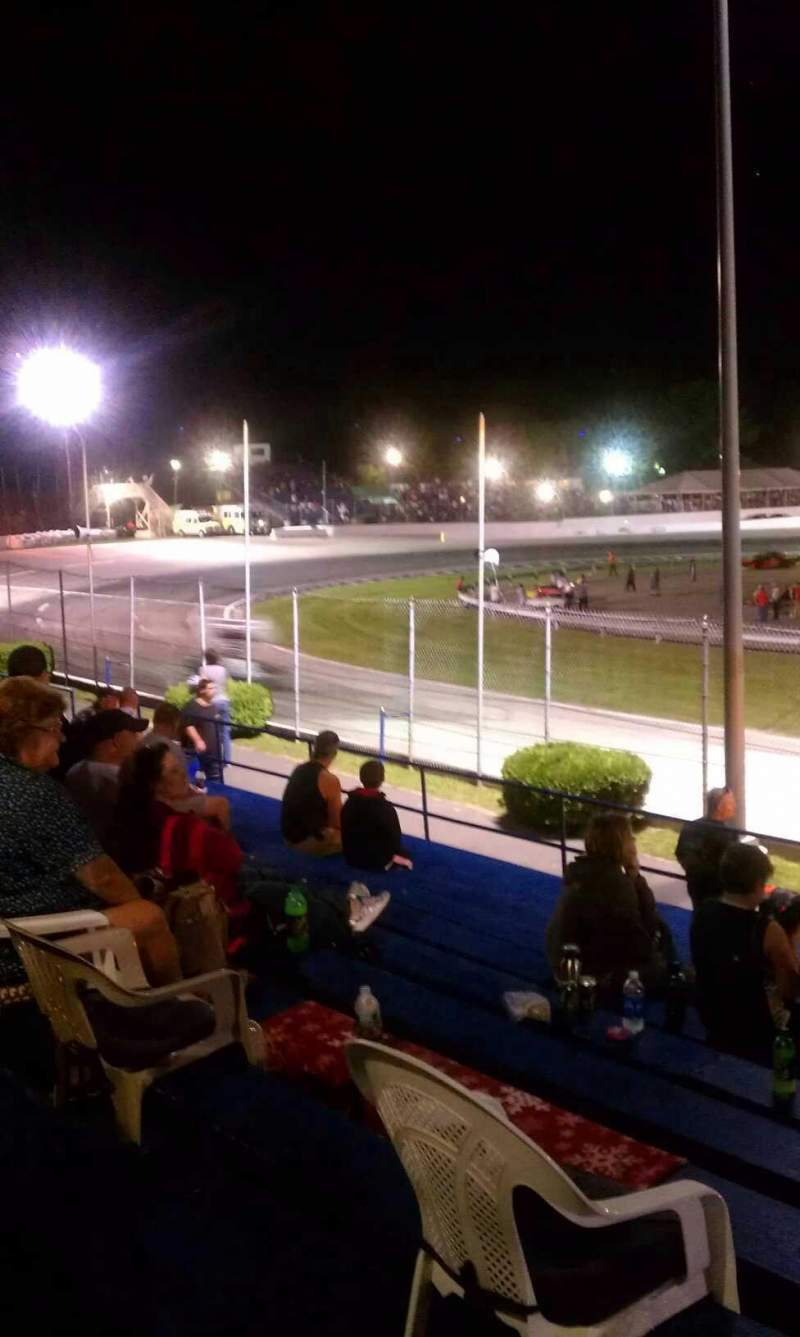 Seating view for Lee Usa Speedway Section GA