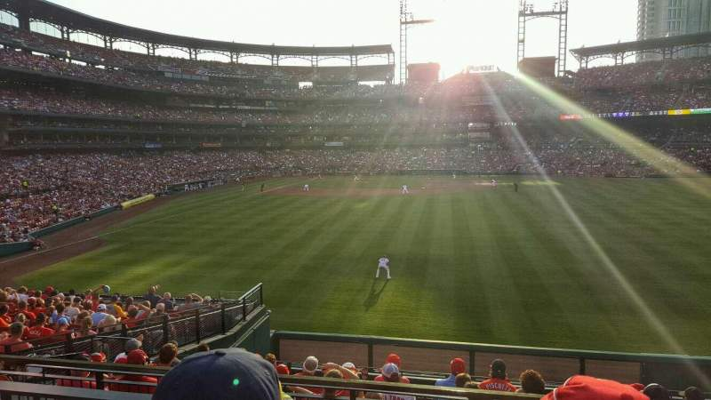 Seating view for Busch Stadium Section 109 Row 21 Seat 10