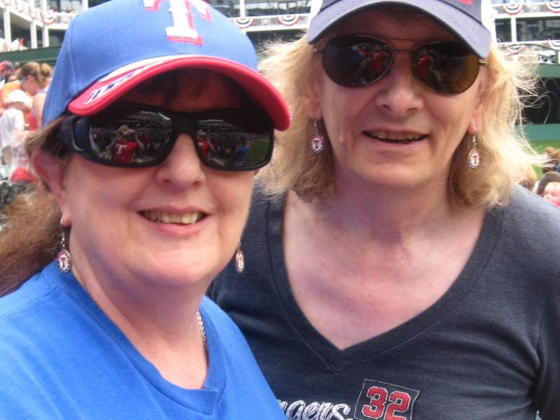 Seating view for Globe Life Park in Arlington Section 6 Row 3 Seat 11