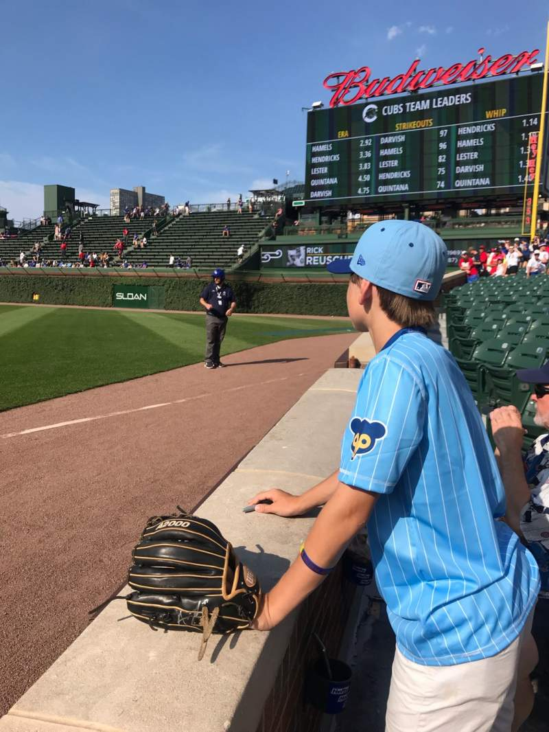 Seating view for Wrigley Field Section 30 Row 2 Seat 6