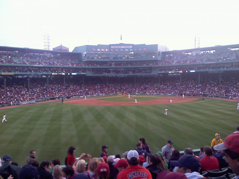 Seating view for Fenway Park Section Bleacher 36 Row 13 Seat 10