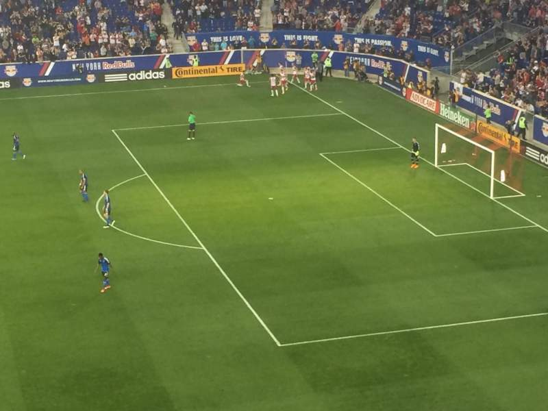 Seating view for Red Bull Arena Section 224 Row 12 Seat 38