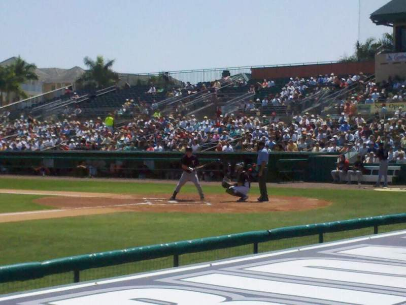 Seating view for Roger Dean Chevrolet Stadium Section 119 Row 5 Seat 5