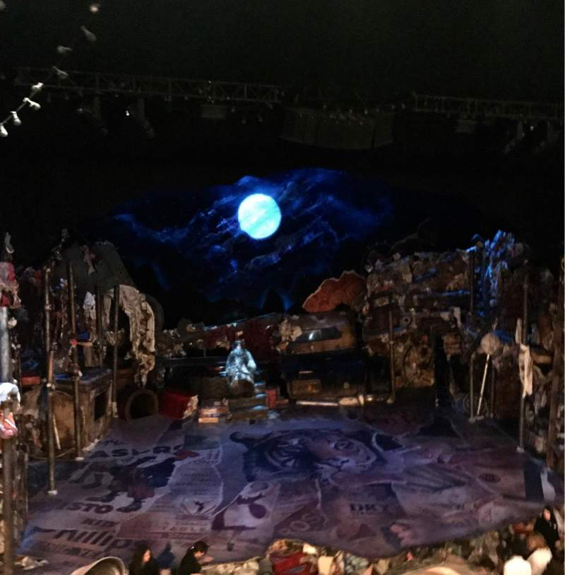 Seating view for Neil Simon Theatre Section Front Mezzanine C Row C Seat 105