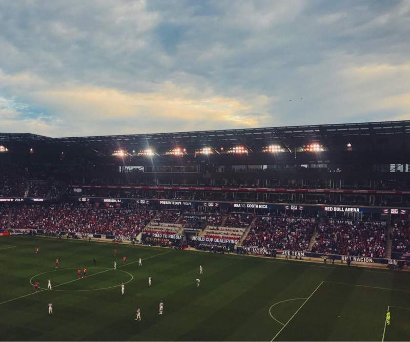 Seating view for Red Bull Arena Section 223 Row 13 Seat 20