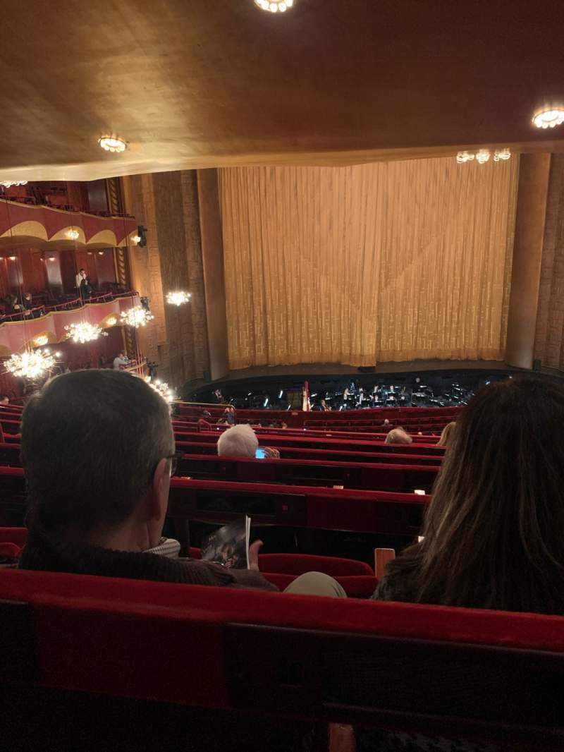 Seating view for Metropolitan Opera House - Lincoln Center Section Grand Tier Row G Seat 119