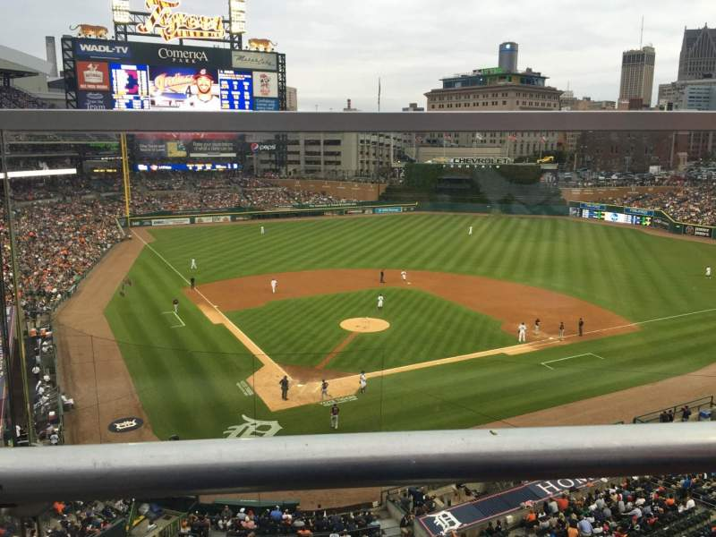 Seating view for Comerica Park Section 325 Row A Seat 15