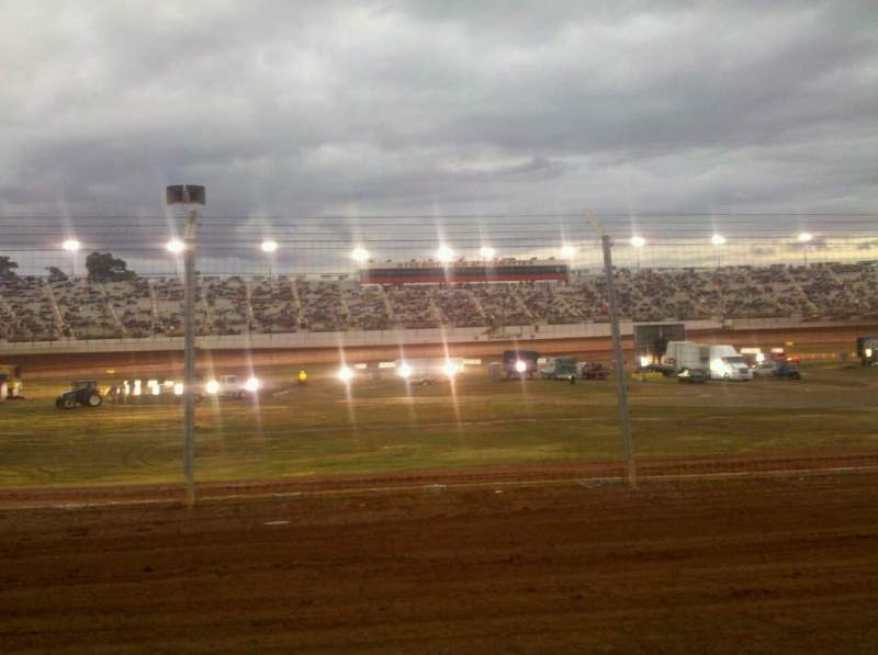 Seating view for Dirt Track At Charlotte